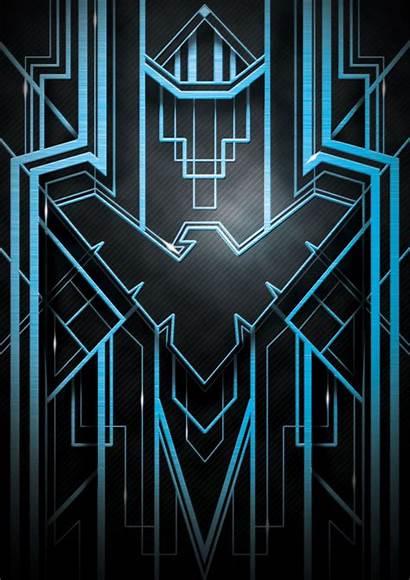 Nightwing Iphone Deco Wallpapers Deviantart Batman Dc