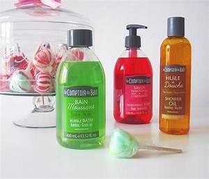 Le Comptoir Du Bain : le rose aux joues le comptoir du bain fait p tiller le savon de marseille ~ Teatrodelosmanantiales.com Idées de Décoration