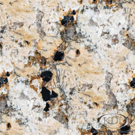 golden crema granite kitchen countertop ideas