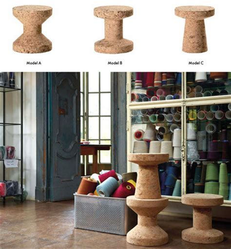 Jasper Morrison Cork Stool   Cork Family   Vitra Chairs