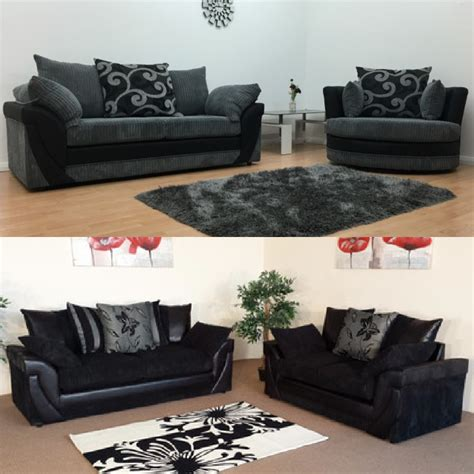 3 2 1 Sofa Set by Lush Cord Fabric Sofa Set Sofastorm