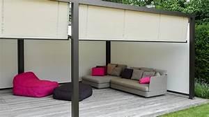 sonnenschutz fur freisitz und garten markisen zanker With französischer balkon mit garten überdachung freistehend