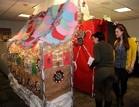 office cubicle christmas decorating contest httpsdyxt