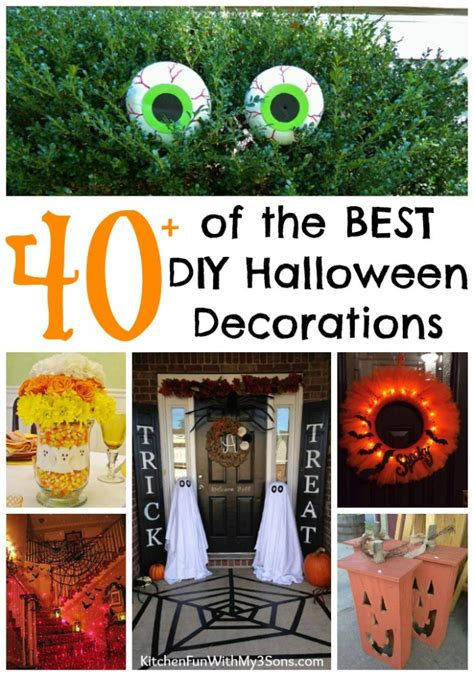 Wine Glass Decoration by 40 Homemade Halloween Decorations Kitchen Fun With My