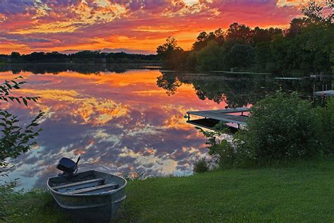 northern minnesota sunset flickr photo sharing