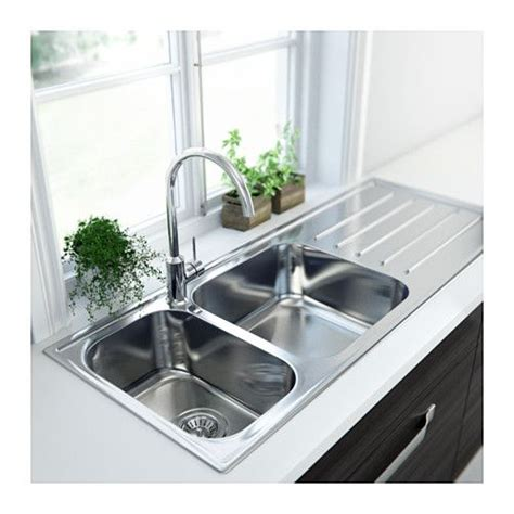 Boholmen 2 Bowl Inset Sink With Drainer Ikea 25 Year