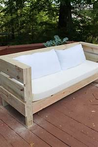 Wood Outdoor Sofa Wood Outdoor Furniture Crate And Barrel