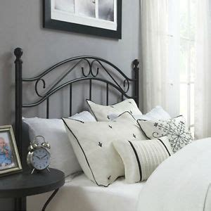 black wrought iron headboard black headboard wrought iron metal bed frame antique