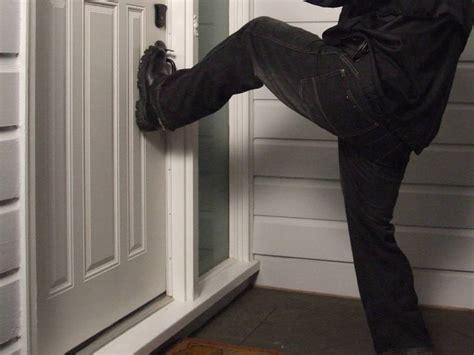 how to secure a door from being kicked in door security tips jamb slab lock weaknesses toronto