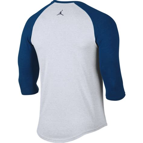 nike air 3 4 raglan top 724492 100 basketball clothing casual wear t shirts