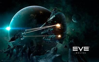 Eve Amarr Gallente Space Spaceship Wallpapers