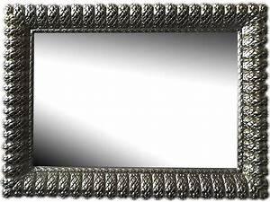 Miroir Cadre Noir : oriental concept cadre avec miroir ~ Teatrodelosmanantiales.com Idées de Décoration