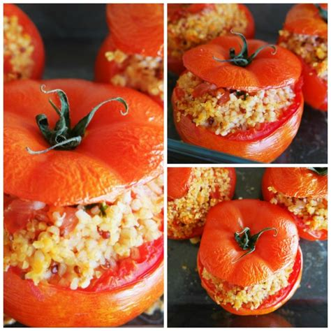 cuisiner les fanes de carottes tomates farcies végétariennes aux fourneaux