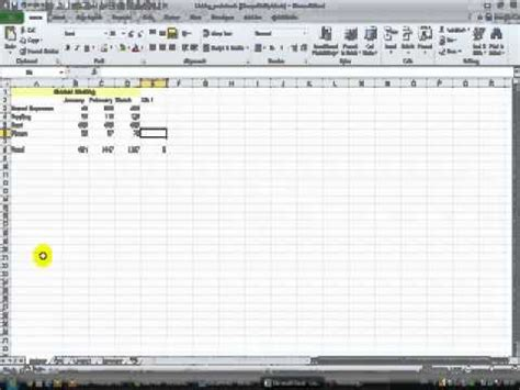 how to link worksheets in excel creating a 3d formula youtube