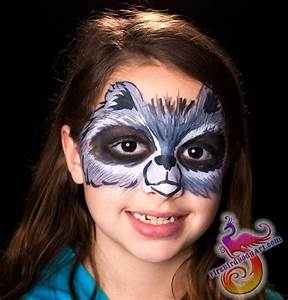 Raccoon Face Paint | www.imgkid.com - The Image Kid Has It!