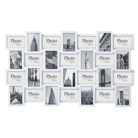 cadre multi photo ikea cadre photos en bois blanc 60 x 102 cm d 201 calage maisons