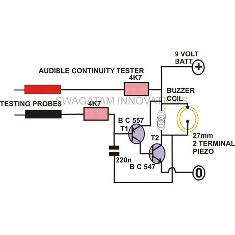 How Make Continuity Tester Circuit