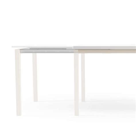 table cuisine en verre table de cuisine en verre avec rallonge bois 4