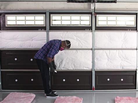 Insulate Bedroom Floor Garage by How To Insulate A Garage Door How Tos Diy