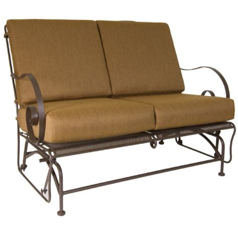 glider sofa loveseat replacement patio cushions aecagra org