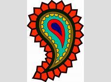 Colorful Paisley Clip Art at Clkercom vector clip art