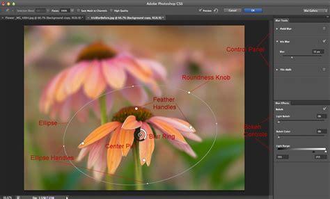 photoshop cs blur gallery tutorial digital photography