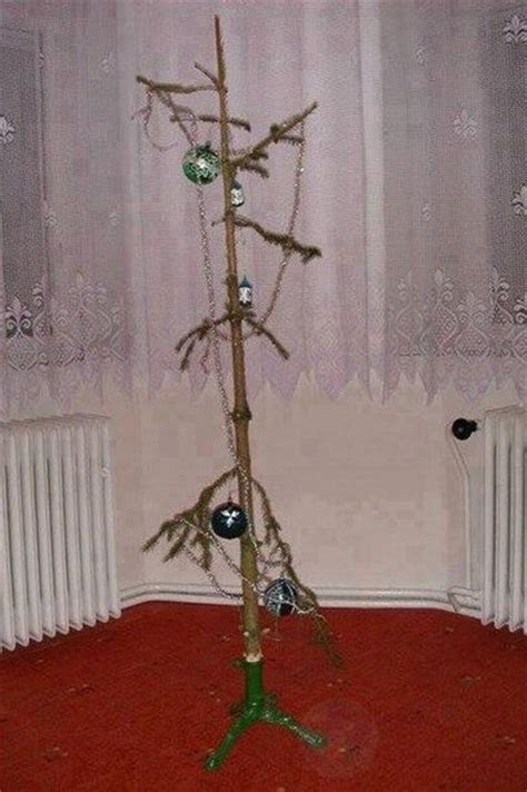 sad christmas trees weirdest holiday decorations