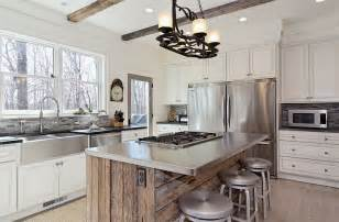 metal island kitchen how to clean stainless steel for a sparkling kitchen