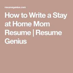 never worked resume sle joby