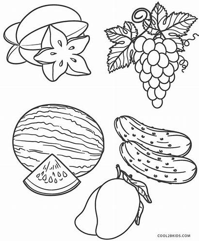 Coloring Fruit Cool2bkids