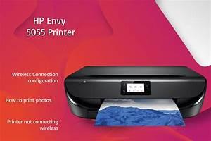 New 123 Hp Com  Envy5055 Printer Setup  Free Driver