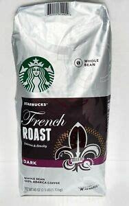 Dark roast coffee beans from around the world to suit your palate. Starbucks French Roast DARK Whole Bean ARABICA, 40 oz BB 11/2020 762111614902   eBay