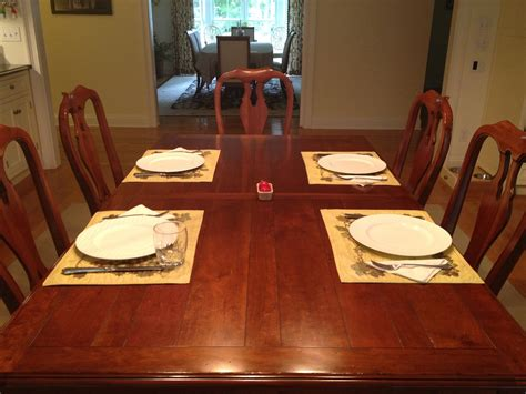 picture of table setting for dinner getting dinner done the seana method