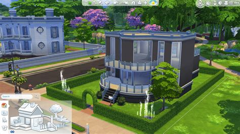 blueprint house plans the sims 4 tutorial how to build a decent home