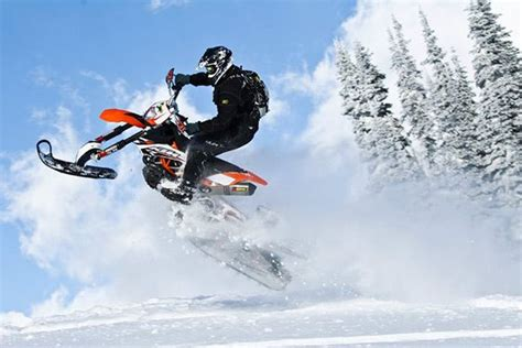 motocross snow bike ride you 39 re dirt bike year round with this snow bike