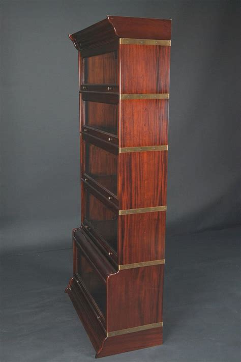 Reproduction Bookcase by Reproduction Barrister Stacking Bookcase Mahogany And