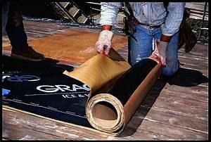 Installing Grace Ice  U0026 Water Shield Underlayment