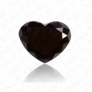 1.07 Carat Heart Shape Natural Fancy Black Diamond   Loose ...