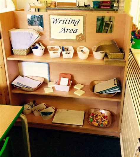 writing area preschool ideas pinte 406 | 2c7ae6c22d06f56324efd6e062d14682