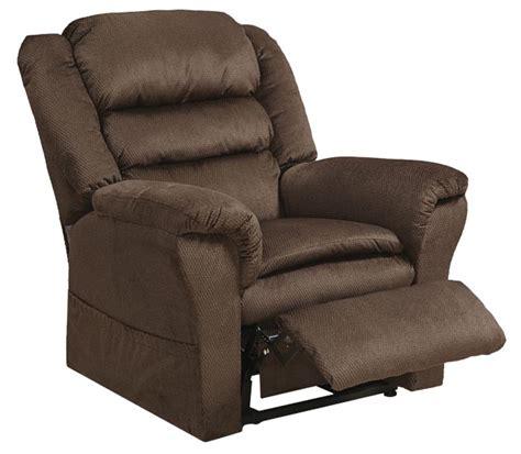 power lift recliner catnapper power lift recliner with pillowtop seat