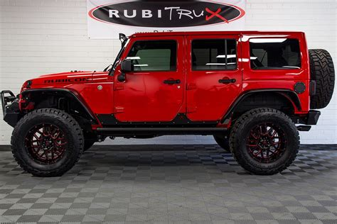 red jeep 2017 2017 jeep wrangler rubicon unlimited firecracker red