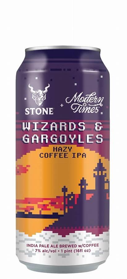 Stone Gargoyles Wizards Ipa Hazy Times Coffee