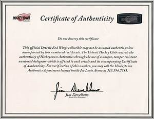 when does your letter of authenticity matter gamewornus With letter of authenticity template