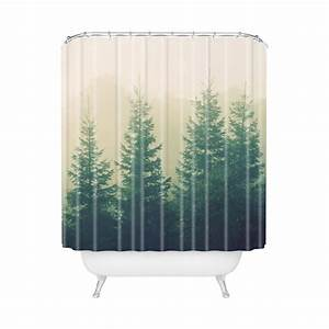 Nature Shower Curtain – Effort to Bring Nature Awe HomesFeed