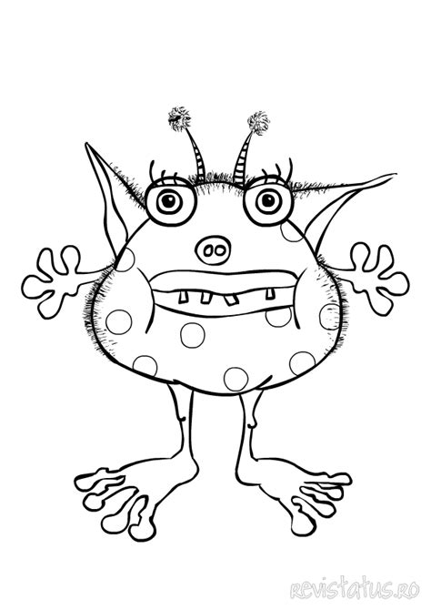 monster coloring pages  dr odd