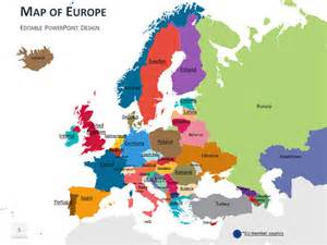 Europe Map PowerPoint