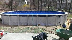 Above Ground Pool Installation Swimming Pools Photos