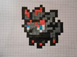Zorua Pixel Art Minecraft Templates Pokemon Images ...