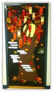 Decoration De Porte : d co de porte octobre l 39 automne cenicienta au cm porte de classe pinterest d co et ~ Teatrodelosmanantiales.com Idées de Décoration