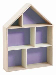 Etagere 6 Cases : etag re murale maison 6 cases violet ~ Teatrodelosmanantiales.com Idées de Décoration